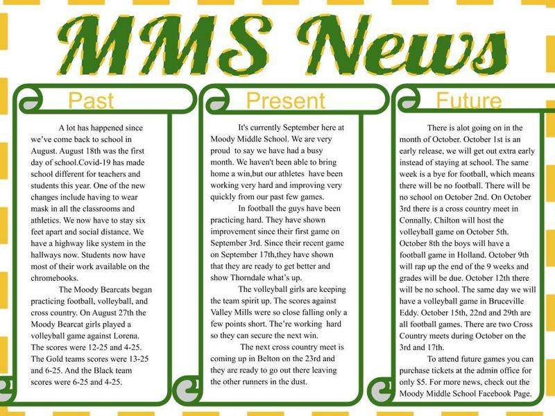 MMS Newsletter Featured Photo