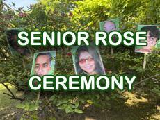 Senior Rose Ceremony