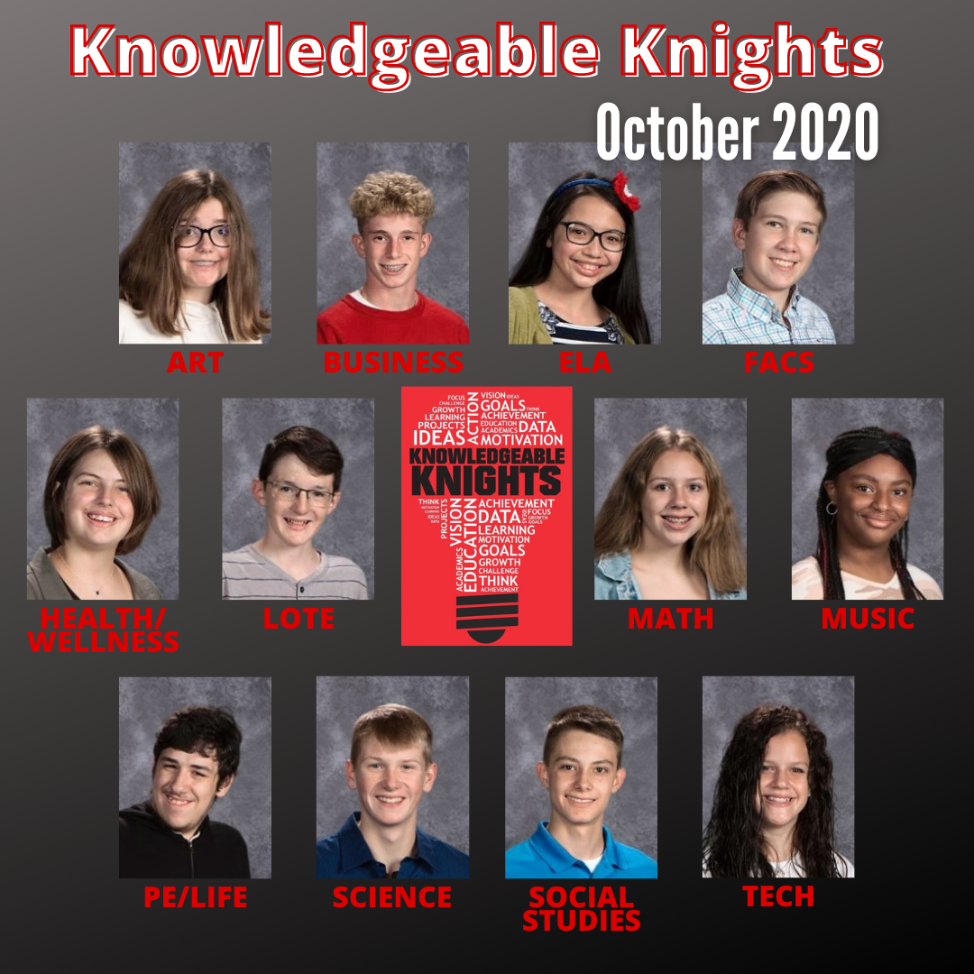 October 2020 Knowledgeable Knights