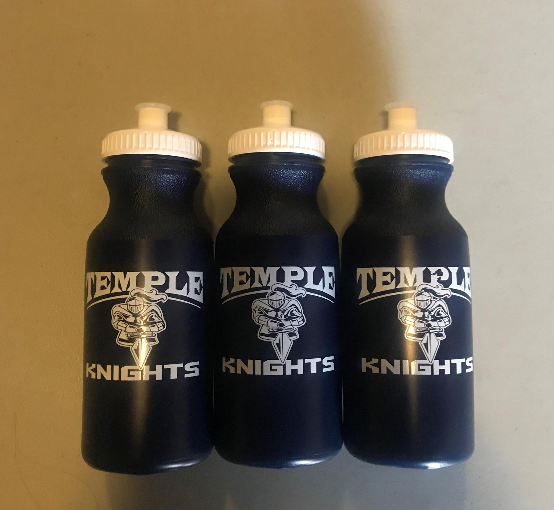 Temple Knights Water Bottle