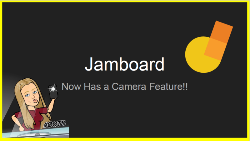 Jamboard Camera Feature