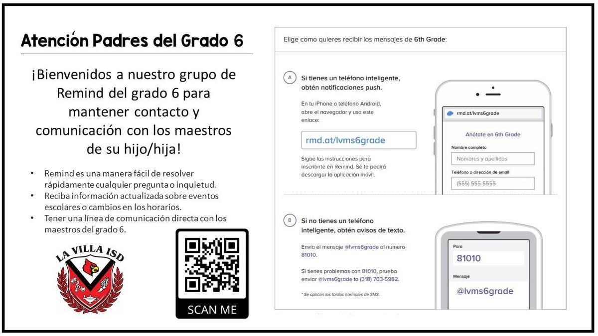 Using Remind Spanish