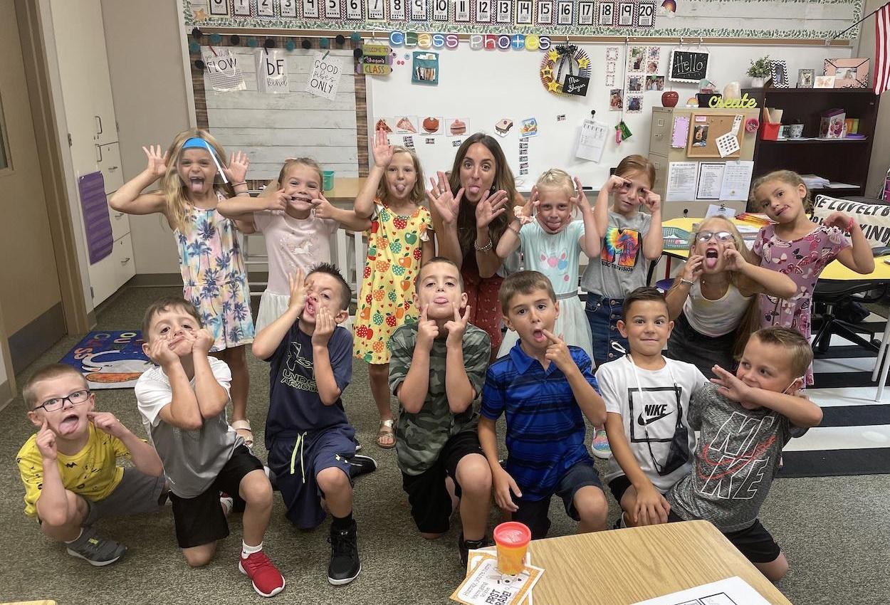 Mrs. Shogan's first grade class