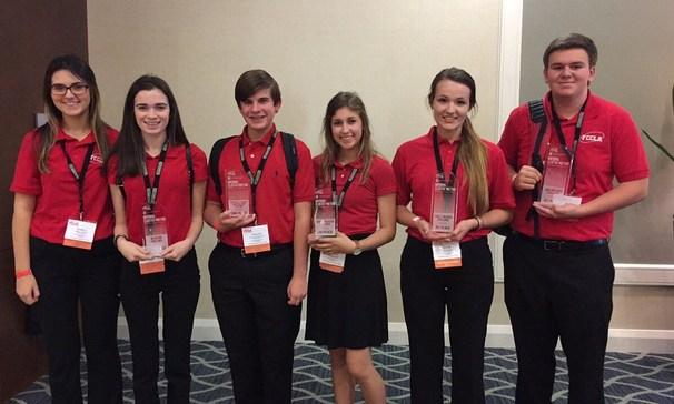 BCHS FCCLA members attend the National Cluster in Orlando, Florida.  (Disney World)