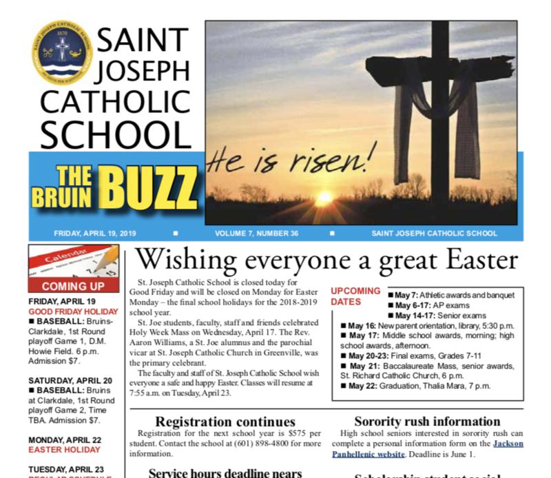 THE BRUIN BUZZ: FRIDAY, APRIL 19 Thumbnail Image