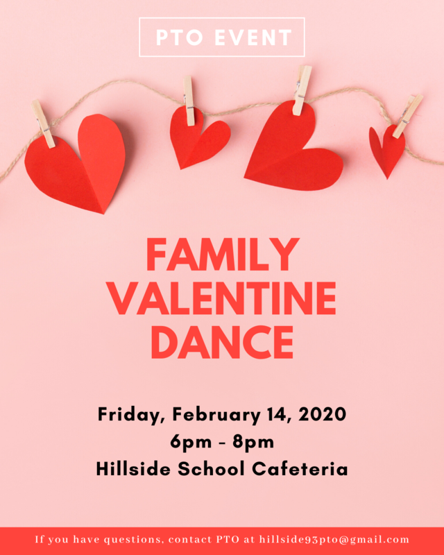 Family Valentine Dance - Friday, February 14, 2020