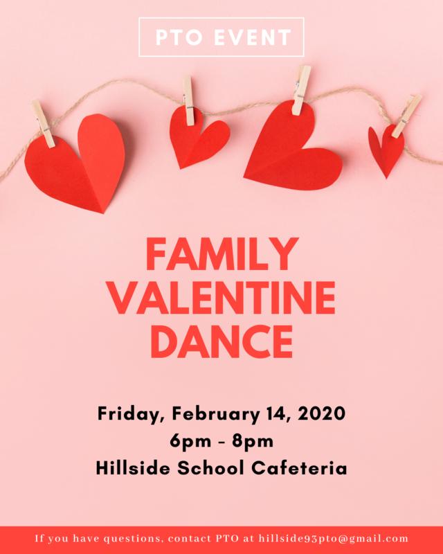 Family Valentine Dance - Friday, February 14, 2020