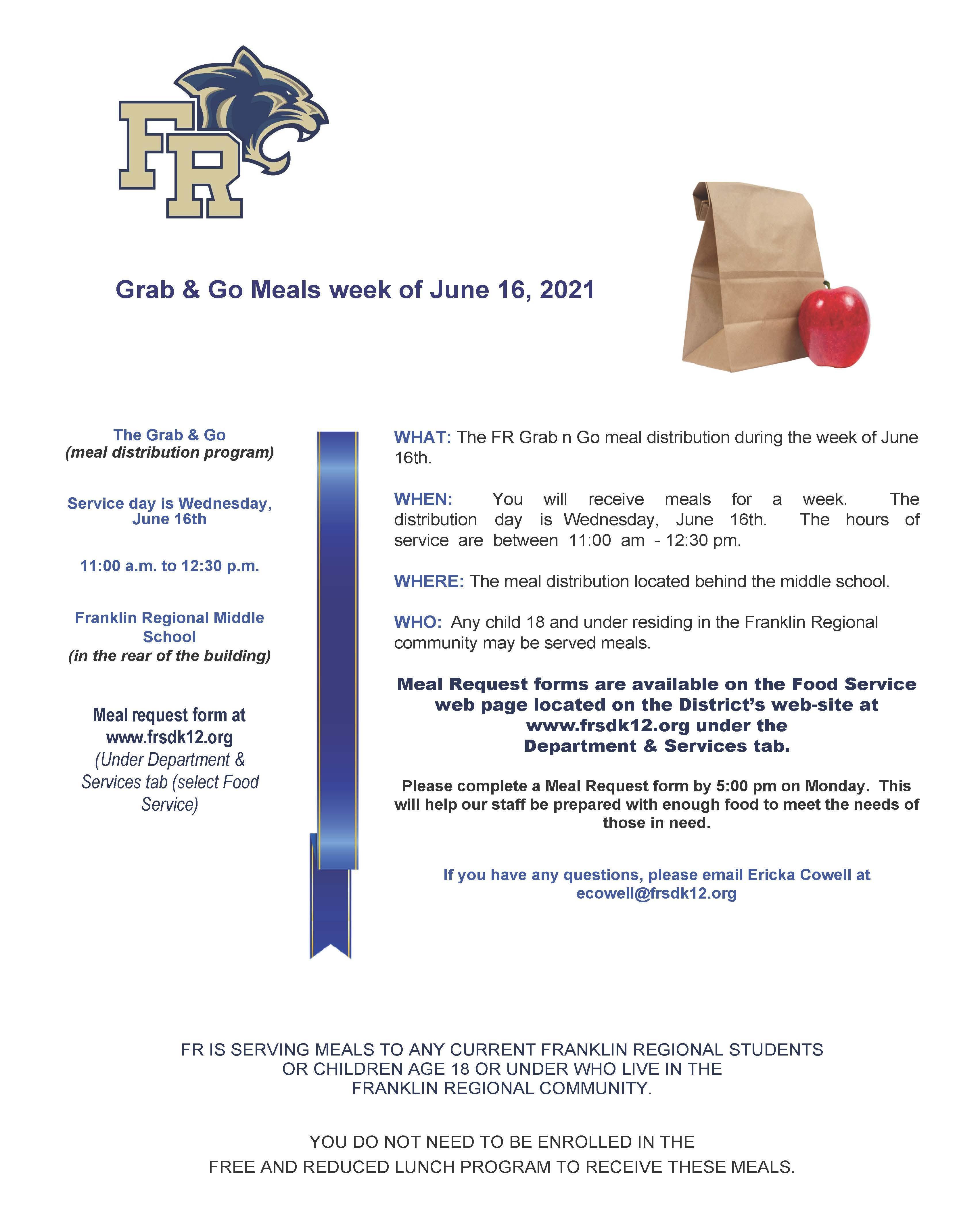 Grab & Go June 16th