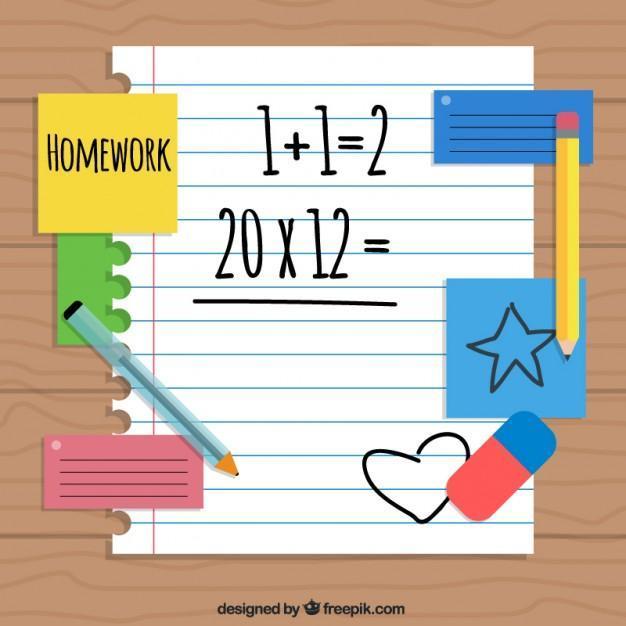 homework graphic