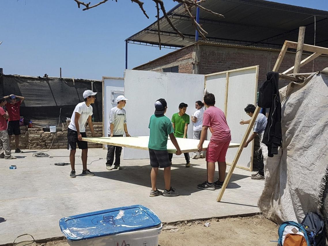 Construcción de casas en Chincha