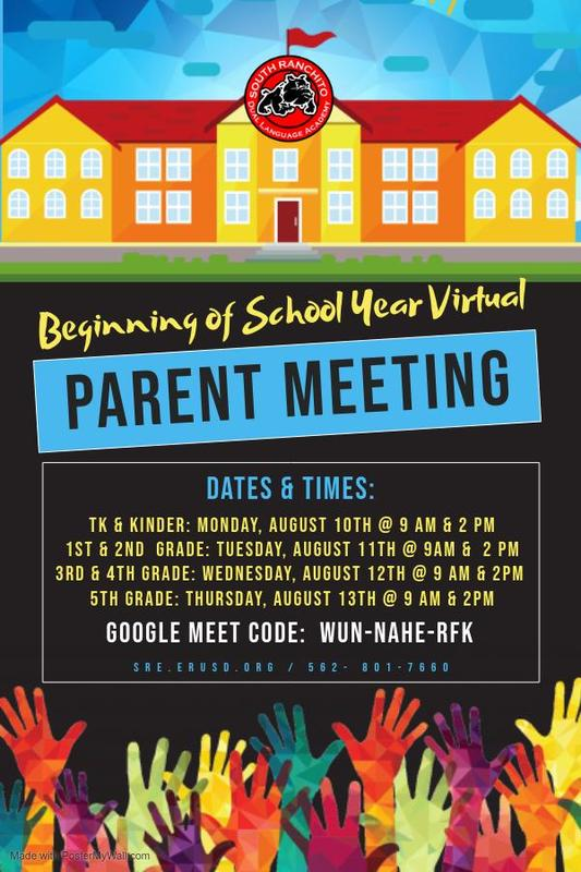 Beginning Parent Meeting Eng