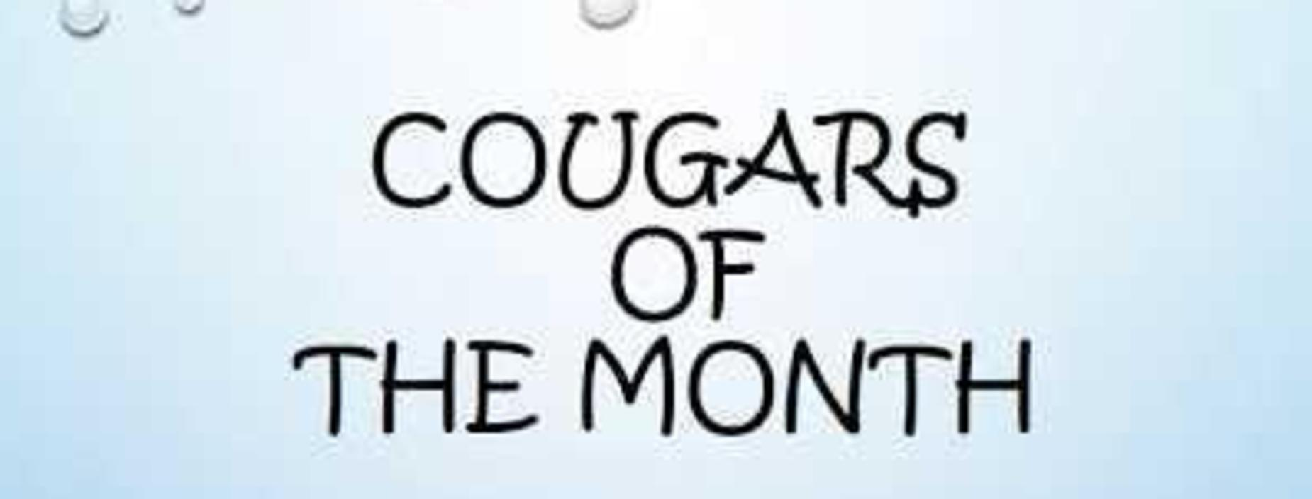 cougars of the month