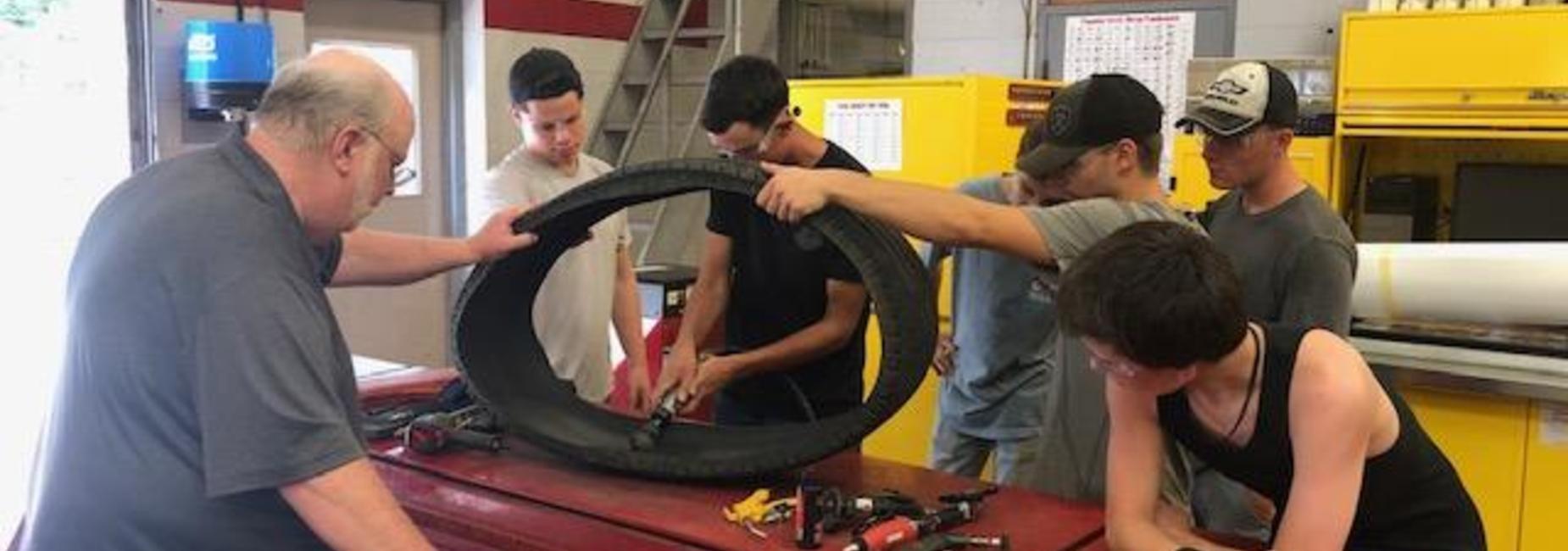 Auto I tire repair
