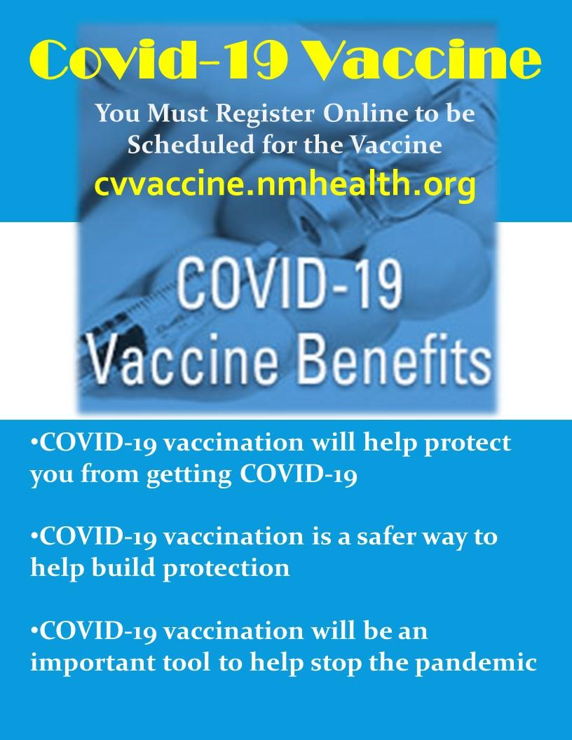 Get Vaccinated info