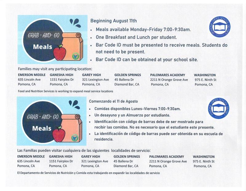 Please preview of Meal Distribution Letter