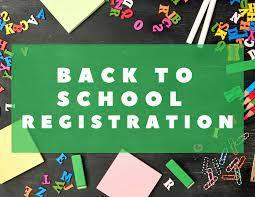 Back to School Registration