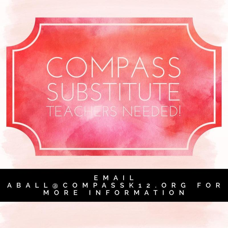 Compass is hiring Subs!