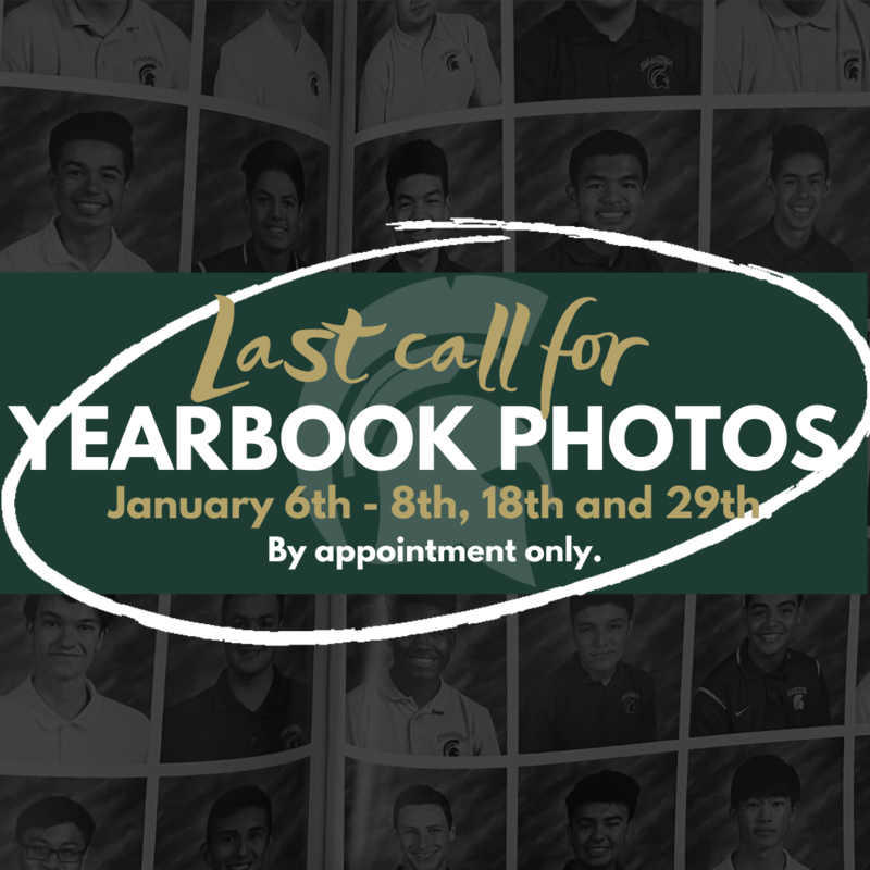 Final make up dates for underclassmen yearbook photos Featured Photo