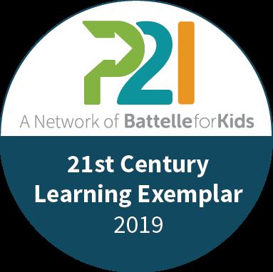 21st Century Learning Exemplar 2019 Logo