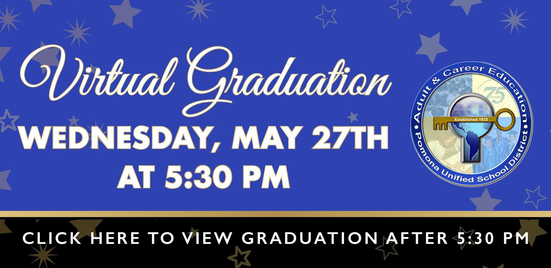 ACE Virtual Grad Banner
