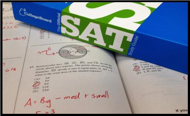 SAT Study Guide Book