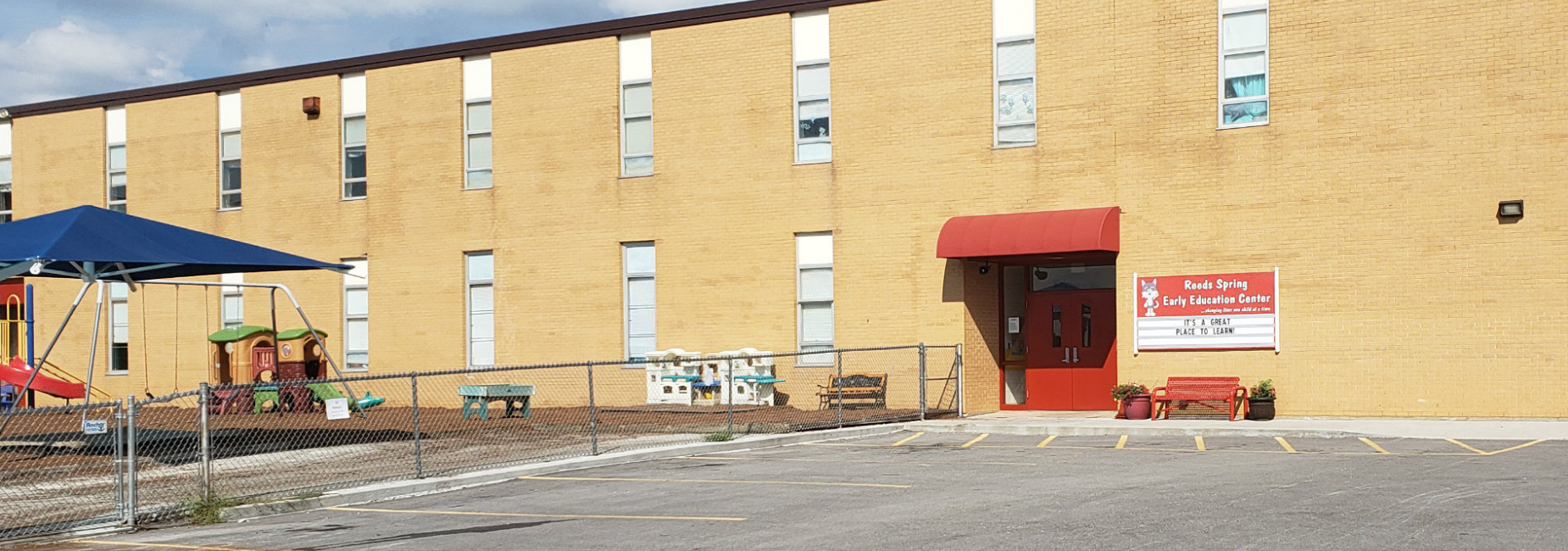 exterior of early education center