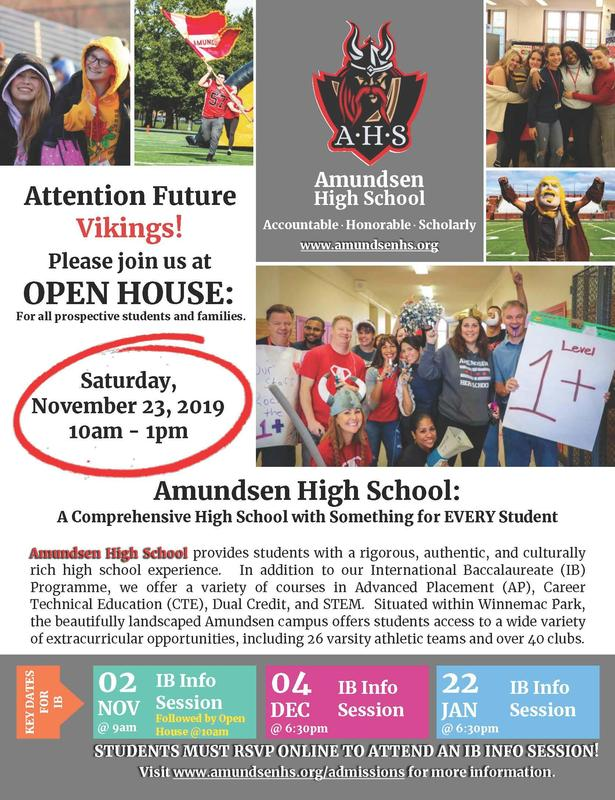 Open House has been Rescheduled to 11/23 Featured Photo