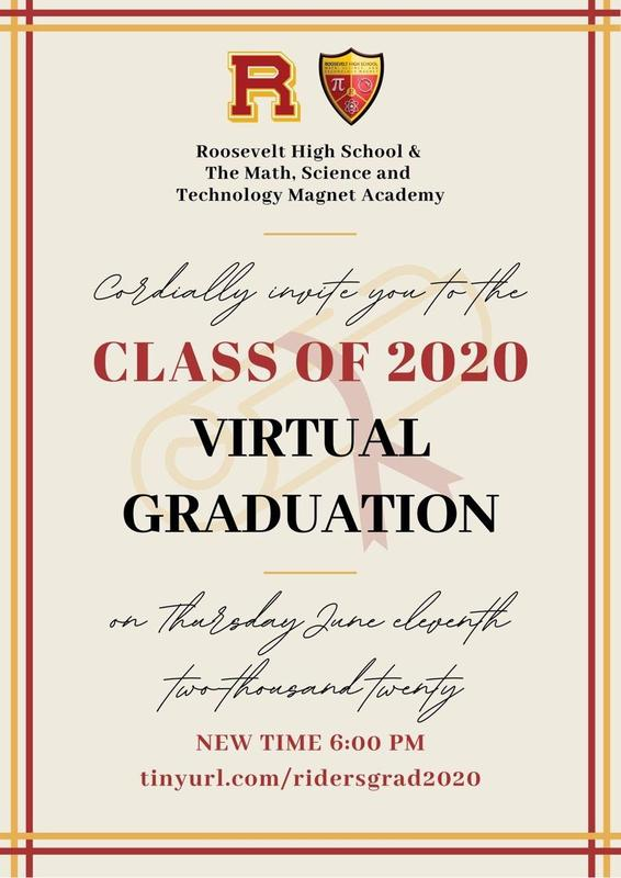 Class of 2020 Virtual Graduation / Graduación Virtual de la Generación 2020 Featured Photo