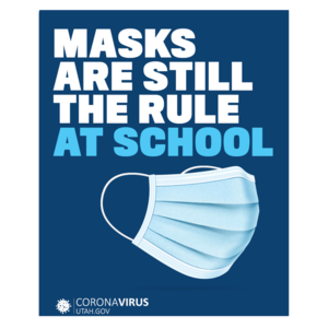 Masks are still the rule at school