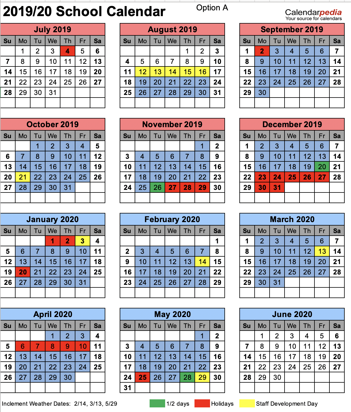 Ccsd Calendar 2020 Chesterfield County School District