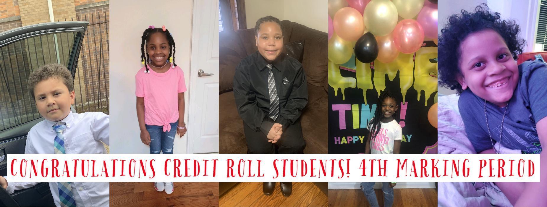 Credit roll