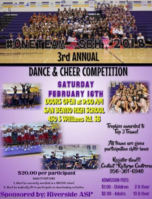 Dance and Cheer Competition