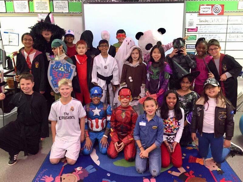 Classroom Halloween  costumes