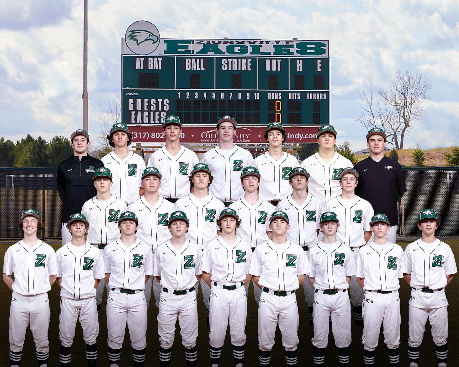 2021 JV White Baseball