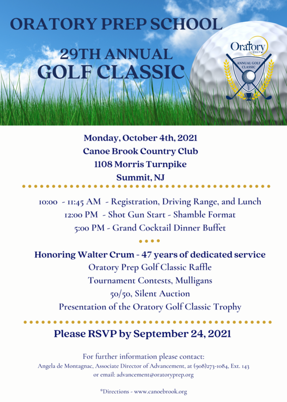 Register Now! 29th Annual Golf Classic Featured Photo