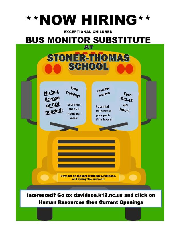 Bus Monitor Substitute Needed