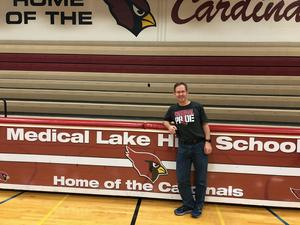 West Plains Chamber of Commerce Teacher of the Year for Medical Lake, Craig Johnson