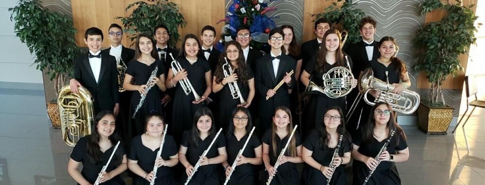 Picture of 2019-20 All City Band Members