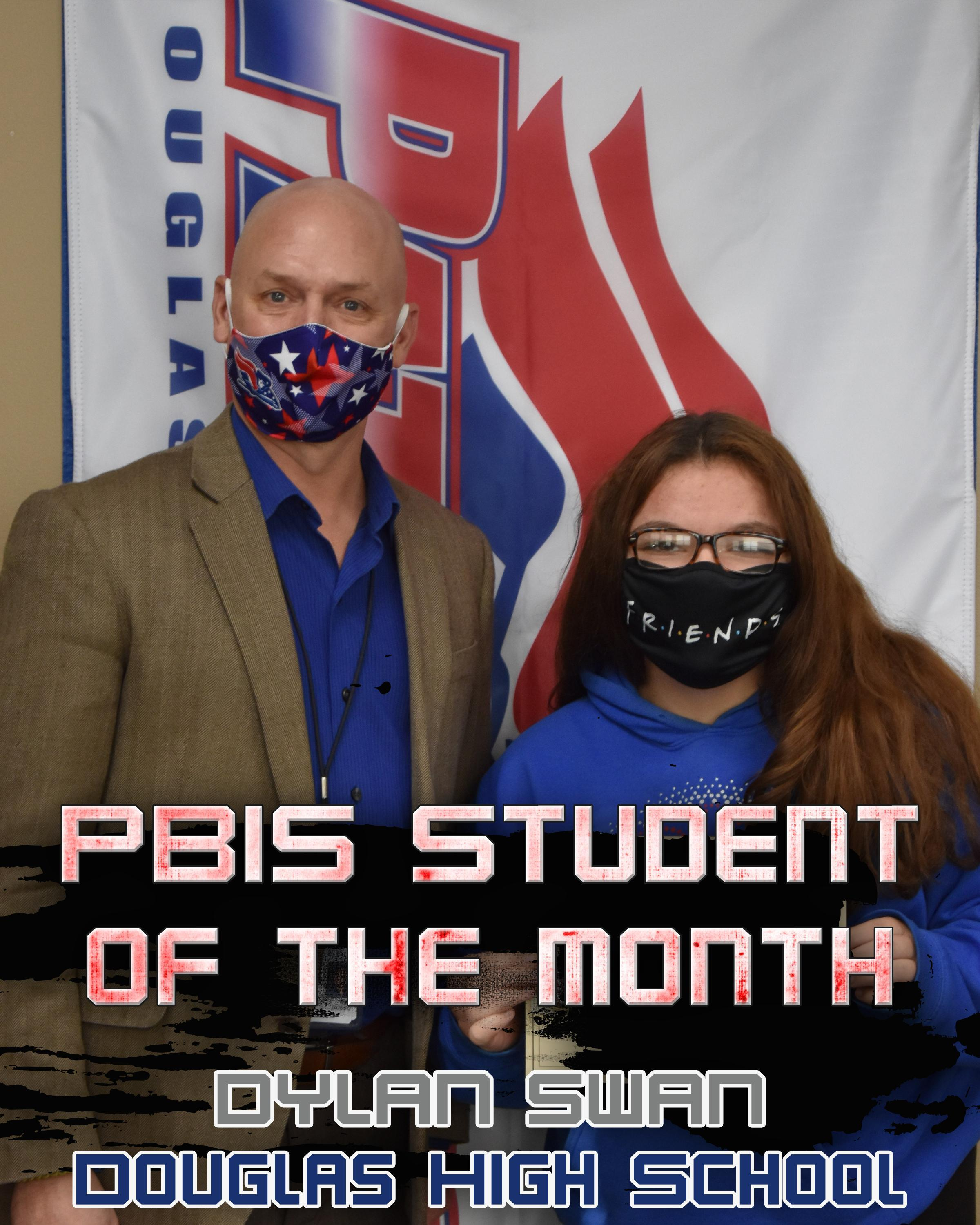 December PBIS Student of the Month