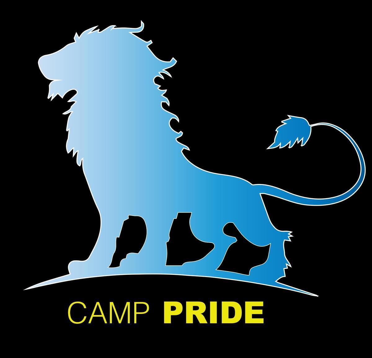 camp pride logo
