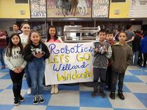 Ms. Haley and the Willard Woodcraft Robotics Competition Team