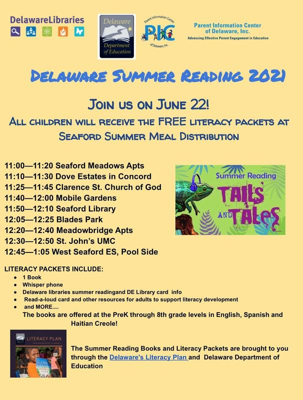 Delaware Summer Reading 2021 Featured Photo