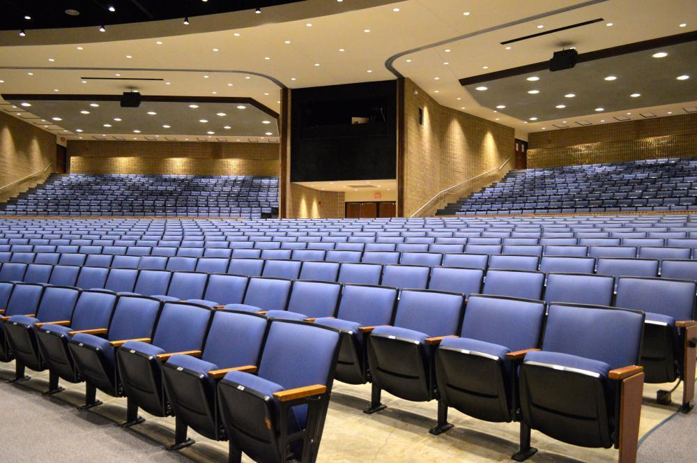 left view of auditorium