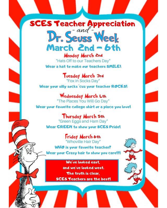 Teacher Appreciation & Dr. Seuss Thumbnail Image