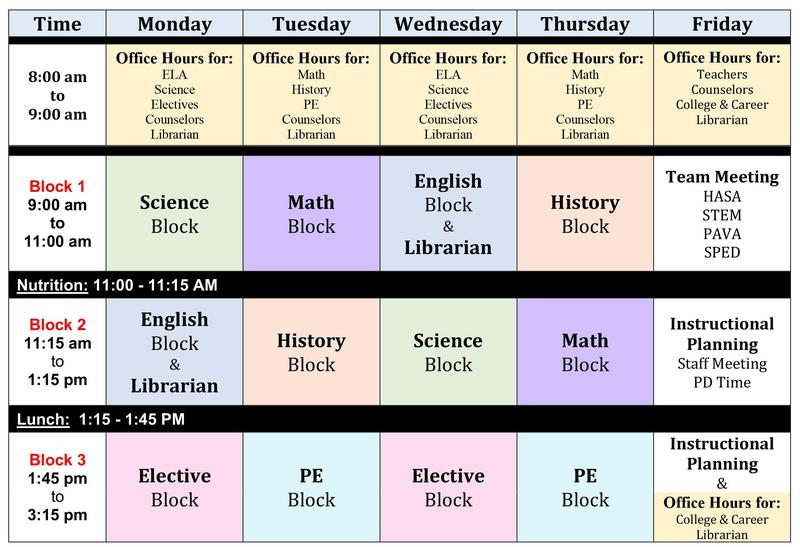 Weekly Schedule for Remote Learning Featured Photo