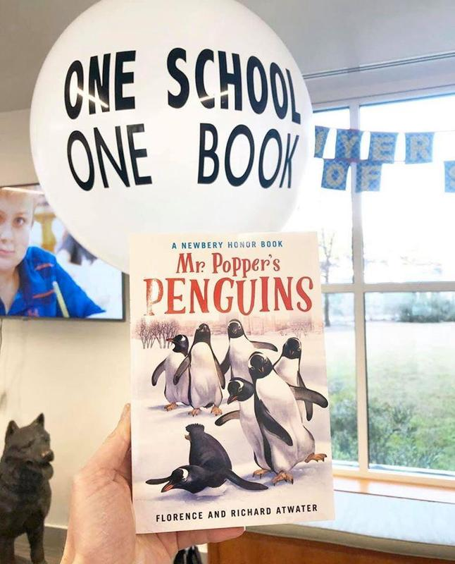 One School One Book Reveal Featured Photo