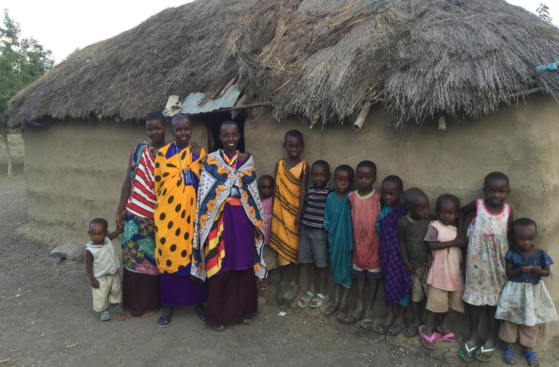 Maasai Women and Children