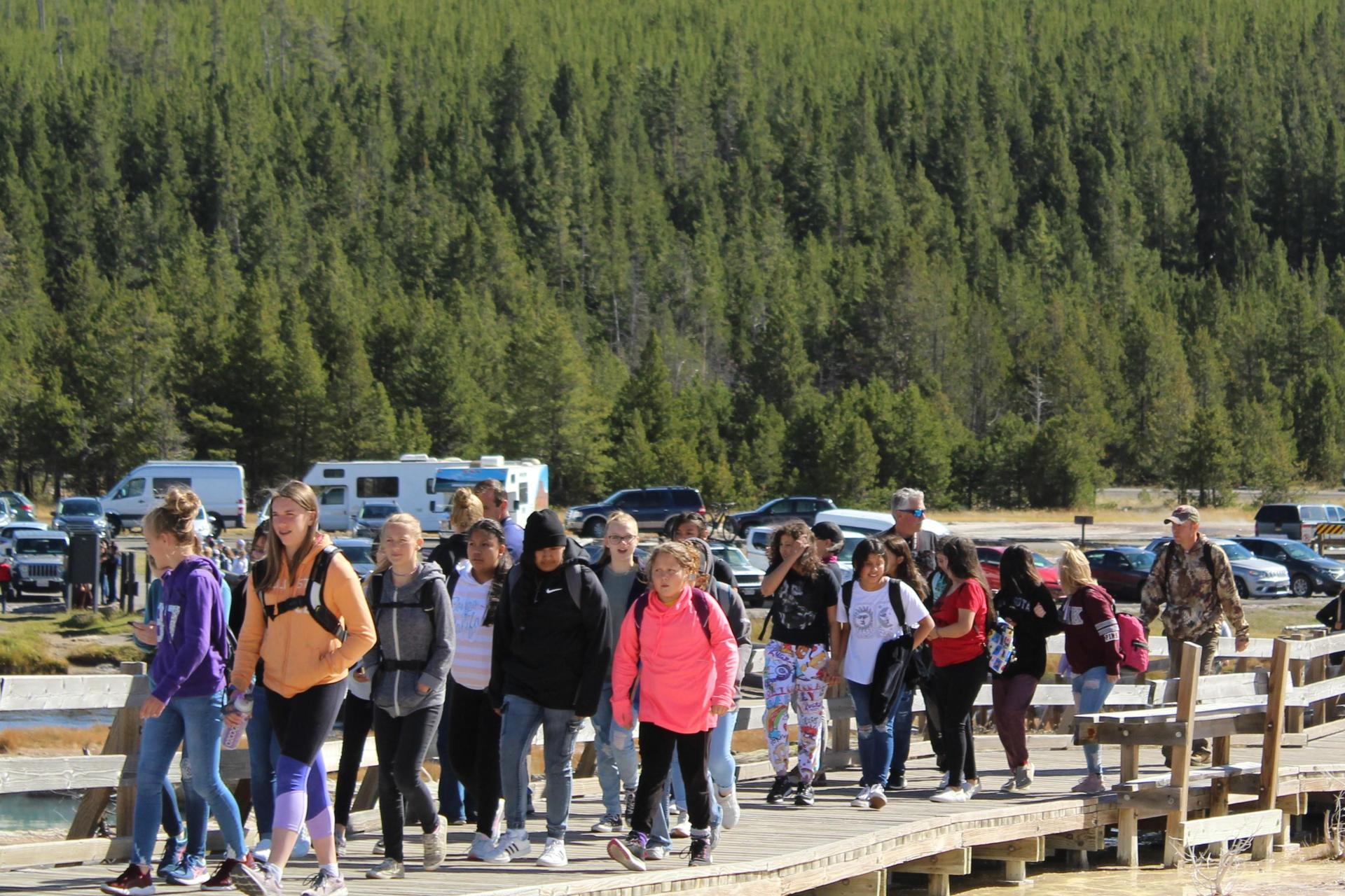 2021 Yellowstone Field Trip