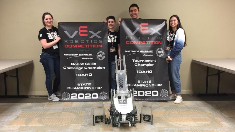 CHS Robotics team