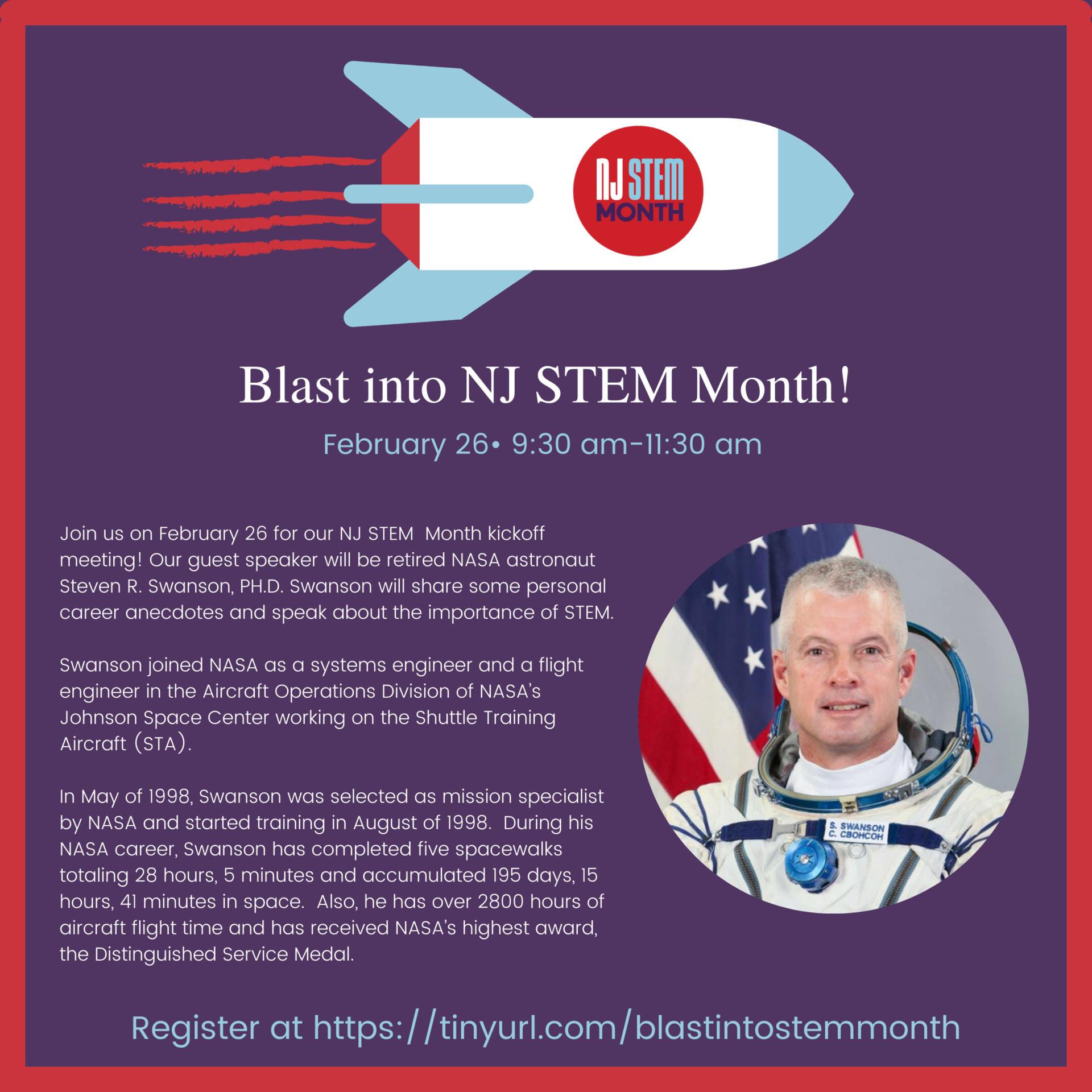Blast into NJ STEM Month!